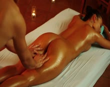 Couples Massage Perfect Hairy Pussy